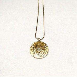 Jewelry - Vintage Monet Sand Dollar Necklace
